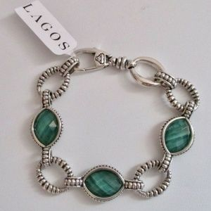 LAGOS Venus Malachite Doublet Bracelet